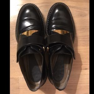 Marni velcro Oxfords / Loafers with gold plate